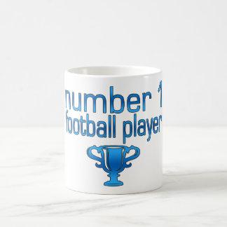 Football Gifts for Him: Number 1 Football Player Coffee Mug