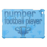 Football Gifts for Him: Number 1 Football Player Case For The iPad Mini