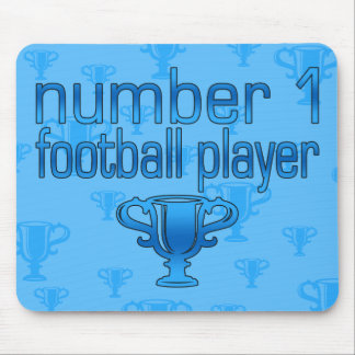Football Gifts for Him: Number 1 Football Player Mouse Pad