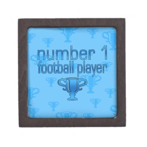 Football Gifts for Him: Number 1 Football Player Premium Gift Box
