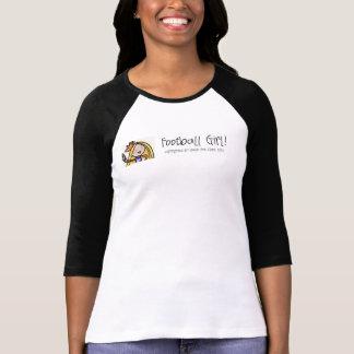 Football Girl fan t-shirt