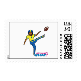 Football Girl Postage
