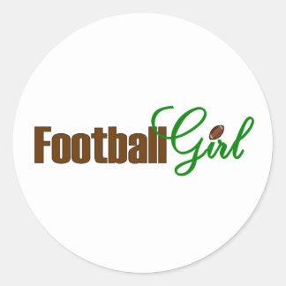 Football Girl Stickers