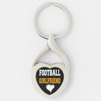 FOOTBALL GIRLFRIEND CUTE GIFT KEYCHAIN