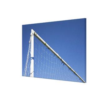 Football goal 2 canvas print