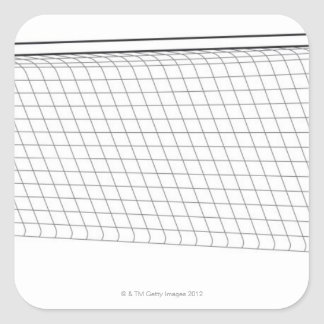 Football goal 3 square sticker