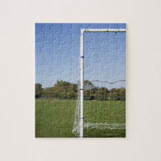 Football goal jigsaw puzzle