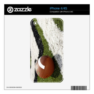 Football Goal Line Skin For The iPhone 4