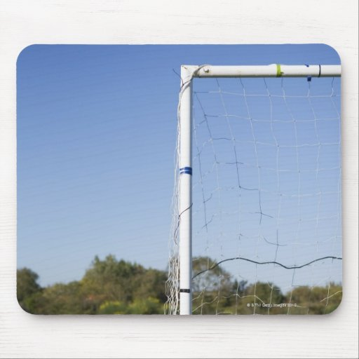 Football goal mouse pad