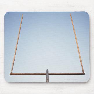 Football goal post mouse pad
