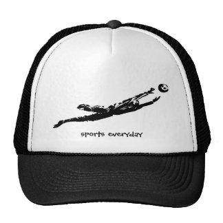 football,goal,skate,sport,gym,compete,sports every trucker hats