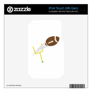 Football Goal iPod Touch 4G Decal