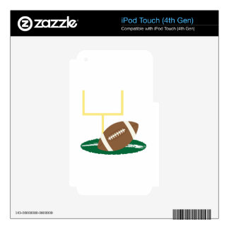 Football Goal iPod Touch 4G Decals