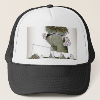 football goalkeeper 'reds' trucker hat