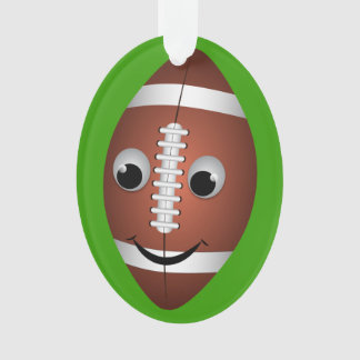 Football Graphic Character Ornament