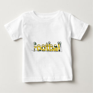 Football Green and Gold Baby T-Shirt