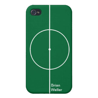 Football green sport stadium iPhone 4 cover