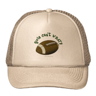 Football - Green Text Trucker Hat