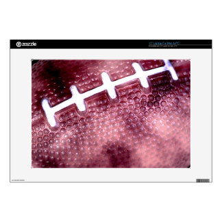 "Football Grunge Style 15"" Laptop Decal"
