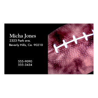 Football Grunge Style Double-Sided Standard Business Cards (Pack Of 100)