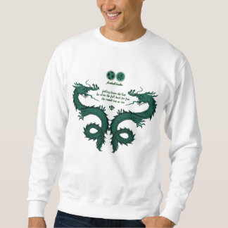 Football Haiku # 4 (White) Sweatshirt