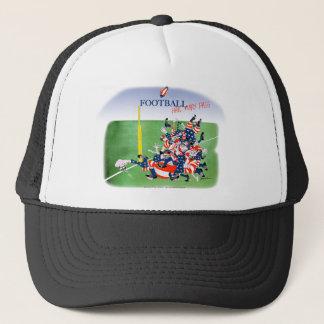 Football 'hail mary pass', tony fernandes trucker hat