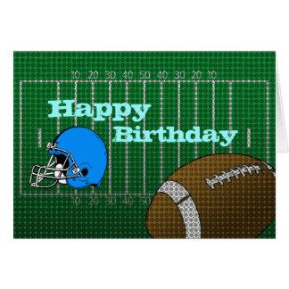 Football Happy Birthday Day Card