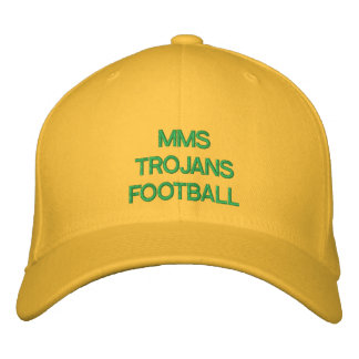 Football Hat Embroidered Hat