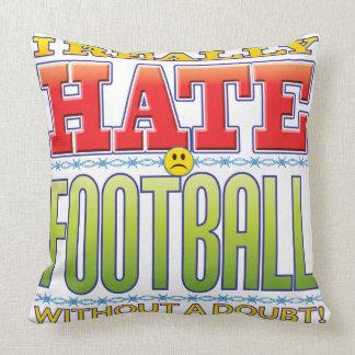 Football Hate Face Pillows
