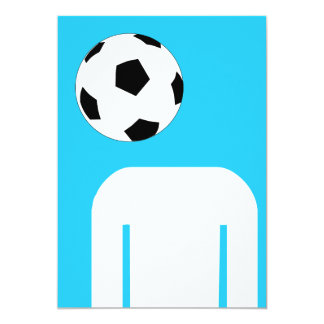 Football Head Card