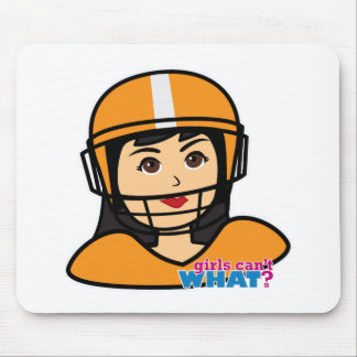 Football Head Medium.png Mouse Pad
