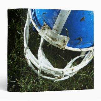 Football Helmet 3 Ring Binder
