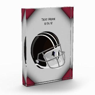Football Helmet Acrylic Award