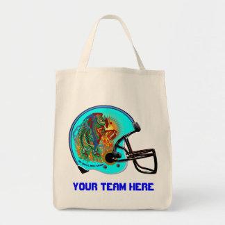 Football Helmet  Bird Tote  All Styles Tote Bag