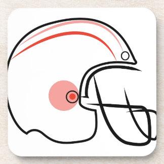 Football Helmet Drink Coasters
