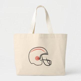 Football Helmet Jumbo Tote Bag