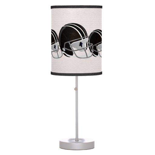 Football Helmet Table Lamp : Football helmet lamp zazzle