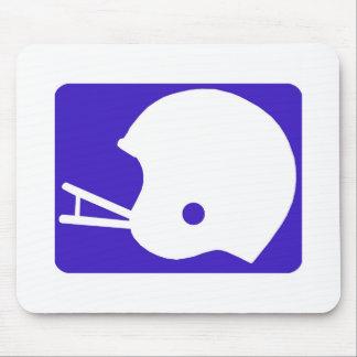 football helmet logo mouse pad