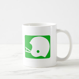 football helmet logo coffee mugs