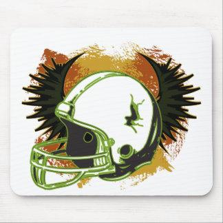 Football Helmet Mouse Pads