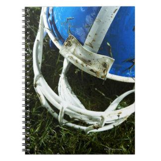 Football Helmet Notebook