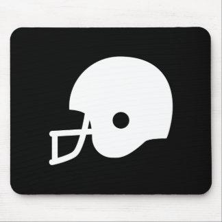 Football Helmet Pictogram Mousepad