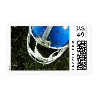 Football Helmet Postage Stamp