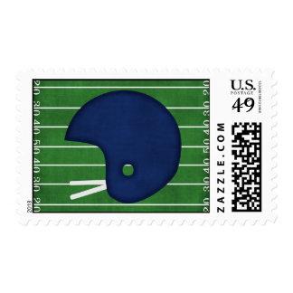 Football helmet postage
