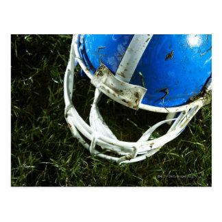 Football Helmet Postcard