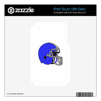 FOOTBALL HELMET SKINS FOR iPod TOUCH 4G
