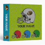 Football Helmet Sport Binder 1