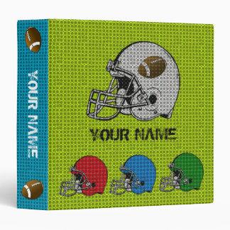 Football Helmet Sport Binder 1