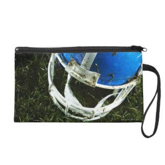 Football Helmet Wristlet Purse
