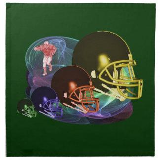 Football Helmets American MoJo Napkin